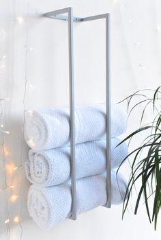 Steel towel rack metal towel holder towel storage towel image 6