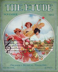 Etude Music Magazine, November 1912