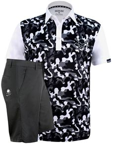 bb2500e60b7 Camo Men s golf shirt  amp  shorts - ships FREE -  golf  shirts