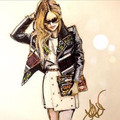 Fashion Illustration Jessica Rae Sommer