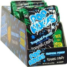 Pop Rocks Tropical Fruit Punch, 24 count