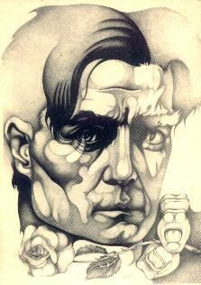 Roberto Arlt por Ricardo Carpani Portrait Tattoo, Male Sketch, Art, Cartoon, Portrait