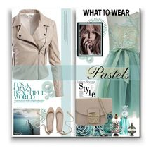 """MINT ELEGANCE: What to Wear"" by polyvore-suzyq ❤ liked on Polyvore featuring Guerlain, Selamat, Pottery Barn, Forever Unique, Anna Sui, Furla and Sans Souci"