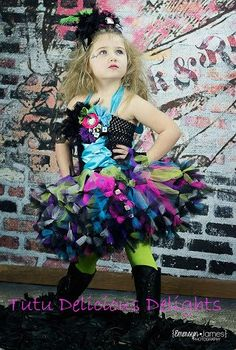 Emersyn Rocks (Rock Star Petti Tutu Dress). $45.00, via Etsy.