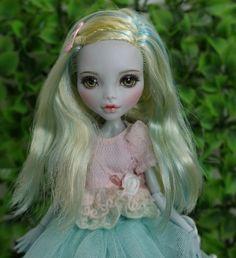 "** Fay ** 11"" 1/6 OOAK custom Monster high Lagoona Blue doll Repaint by Yu #Dolls"