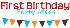 Inspiring first birthday party ideas