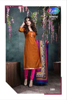 Bhagalpuri Office / Daily Wear Unstitched Salwar Suit – 308 - http://member.bulkmart.in/product/bhagalpuri-office-daily-wear-unstitched-salwar-suit-308/