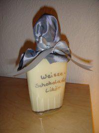 Weisse-Schokolade-Likör ohne Ei - Rezept