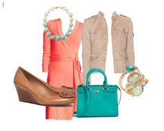 Great Spring outfit for work or a day out on Summer vacation!