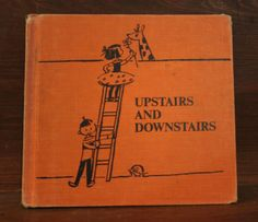 Upstairs and Downstairs by ReadeemedBooks on Etsy