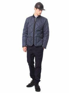Patrik Ervell Zip-Up Quilted Jacket
