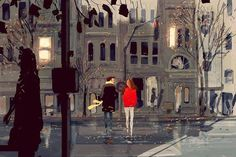 Love Is All You Need. 40 Romantic Digital Illustrations by Pascal Campion Free Vector Illustration, Love Illustration, Illustrations, Pascal Campion, New Yorker Covers, Dreamworks Animation, Paramount Pictures, Famous Artists, Love Is All