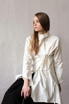 Shirt in cotton Fall 2016 by Masha Andrianova www.mashaandrianova.com Picture by Olya Ivanova