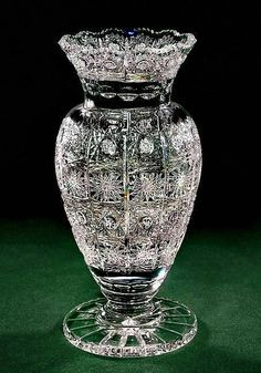Crystal Gifts, Stemware, Vases, Rare Colors, European Quality!: Empress Two - 10 Inch Vase - GEM PERFECTION! - Reg $429 - IN STOCK