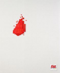Fab Detergent: Ketchup #lego #ad #print