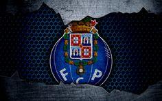Fc Porto, Grunge, Real Madrid Atletico, Metal Texture, Sports Wallpapers, Football, Porsche Logo, Graphic Design Art, Soccer