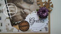 Pysseldags: Grattis och istället för en blomma