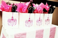 Paris goodie bags