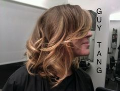 Short hair Ombre by Guy Tang