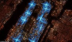 America Revealed: GPS trails of pizza delivery riders on one Friday night in Manhattan