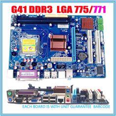 חדש מיקרו ATX intergrated לוח האם G41 לוח האם LGA 771/775
