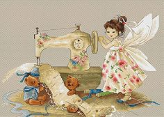 Needlework Fairy Cross Stitch Kit   Luca-s