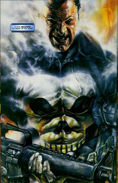 The Punisher by Brad Parker