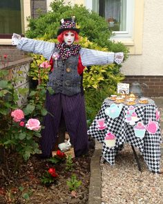 My Mad Hatter Scarecrow