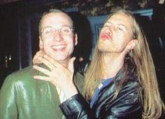 Jerry Cantrell and Stone Gossard