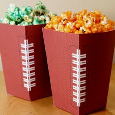 How cute for a Super Bowl party, or little boy's birthday party.