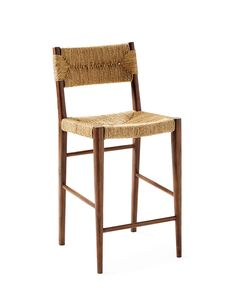 Shop the Serena & Lily collection of modern, classic bar stools today – choose from counter stools, bistro chairs & backless stools, for inside & out. Bar Counter, Counter Stools, Wood Counter, Kitchen Island With Seating, Kitchen Islands, Kitchen Stools, Kitchen Backsplash, Foot Rest, Wood Grain