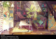 "CATSUKA - Some artworks by Aurélien Prédal for french ""Dr..."
