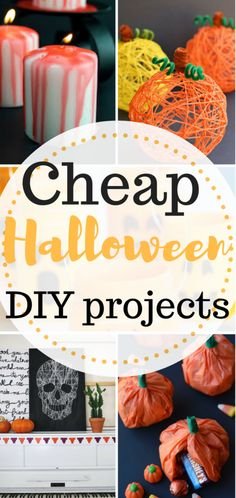 inexpensive Halloween DIY projects. Halloween, Halloween Projects, DIY Halloween Projects