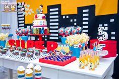 Pra você festas especiais: super hero party