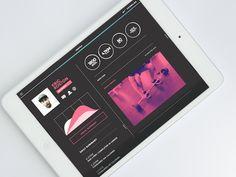 Nike Commune - iPad App Concept
