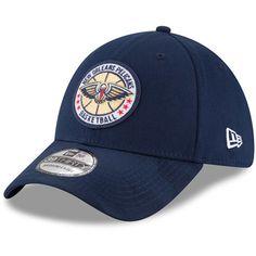 80bf2de787d Men s New Orleans Pelicans New Era Navy 2018 Tip Off Series 39THIRTY Flex  Hat