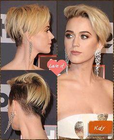 Stylish Short Haircuts, Short Pixie Haircuts, Short Bob Hairstyles, Celebrity Short Haircuts, Short Hair Styles Easy, Short Hair Cuts, Curly Hair Styles, Undercut Hairstyles, Hairstyles Haircuts