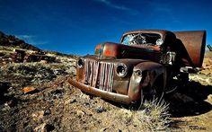 16 Abandoned Cars, Trucks, Buses, Tanks, Roads & Paths | WebUrbanist