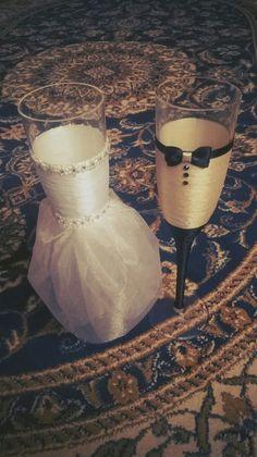 Wedding glasses 👰🍸🍹😊