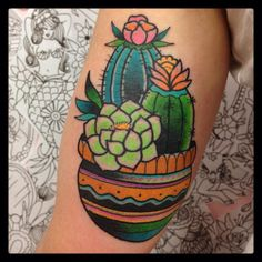 Tatuaje-Cactus-by-Tilly-Dee.jpg (960×960)