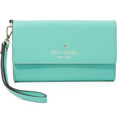 Kate Spade New York Cedar Street iPhone 6 / 6s Wristlet (13010 RSD) ❤ liked on Polyvore featuring bags and fresh air