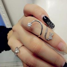 Rhinestone Ring from #YesStyle <3 Gossip Girl YesStyle.com
