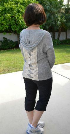 Westbury Crochet Detail Hoodie by Tea N Rose. Stitch Fix