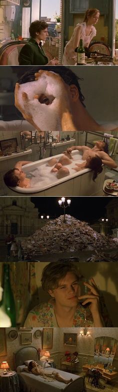 The Dreamers (UK) / Innocents (FR) / I sognatori (IT) / Os sonhadores (BR) / Direção Bernardo Bertolucci / (2004, (UK, FR, IT)