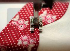 Machine Applique using invisible machine applique. That'- s right, invisible machine applique, but with DMC Machine Embroidery thread!