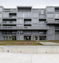Wohnkomplex in Graz / Graue Kastanie - Architektur und Architekten - News / Meldungen / Nachrichten - BauNetz.de