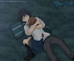 ao haru ride - blue spring ride, this moment dem tears D: