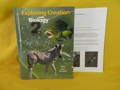 Apologia Exploring Creation with Biology Text & Test, LN, Homeschool or School #Textbook