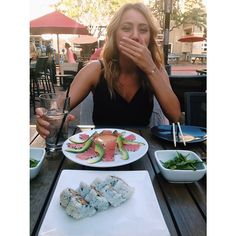 """@nowthisisliving's photo: """"My view at dinner: The girl with the most adorable laugh. Love lovin you."""""""