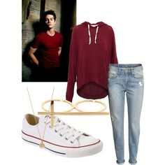 Stiles Stilinski (Teen Wolf, Dylan O'Brien) inspired outfit - Polyvore